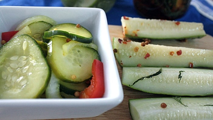 how to make dill pickles from cucumbers without canning
