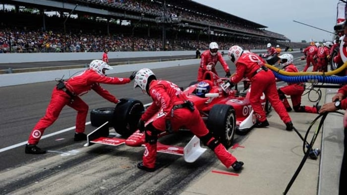 Yoga Helps IndyCar Racers Improve Their Game  Mens Journal