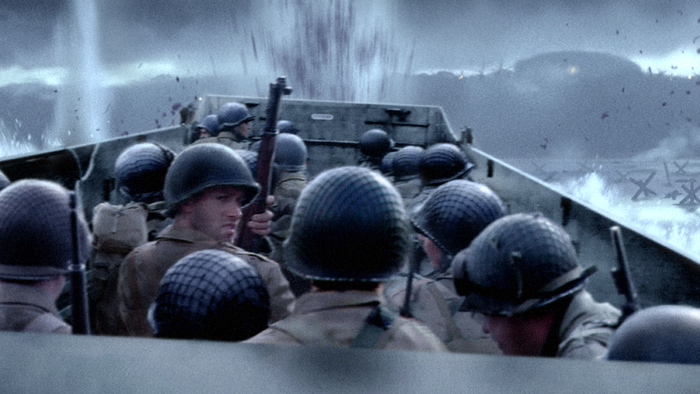 D Day Saving Private Ryan Playing the D-D...