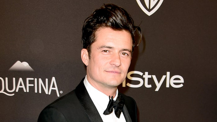 Orlando Bloom Continues To Surprise Us With This New Blonde 'Do!