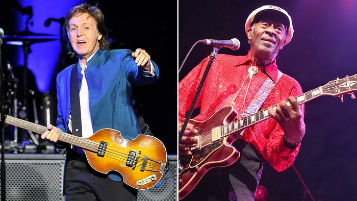 Paul Mc Cartney wrote a tribute to Chuck Berry calling the late rock legend a