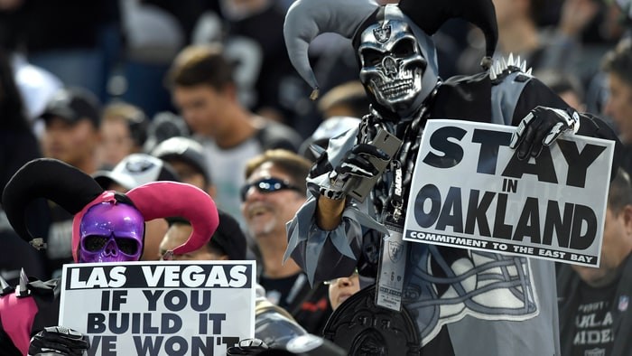 Oakland Raiders Las Vegas Move Hits Snag Rolling Stone