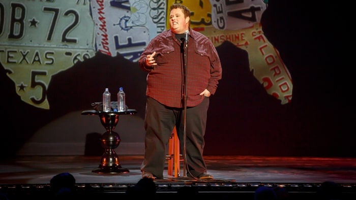 Late American stand-up comedian Ralphie May