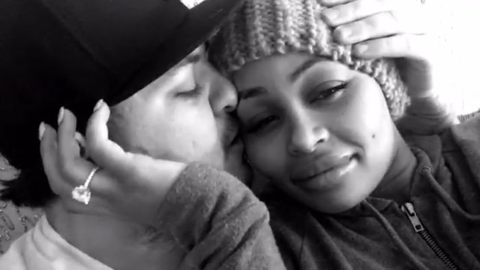 Blac Chyna's Instagram Hacked, Rob Kardashian Split Rumors Are Posted
