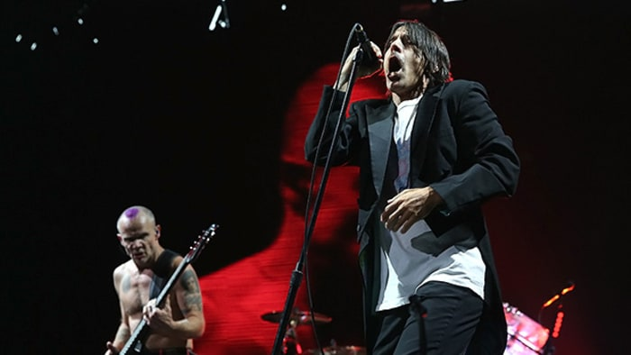 red hot chili peppers talk new album at brooklyn super bowl concert rolling stone. Black Bedroom Furniture Sets. Home Design Ideas
