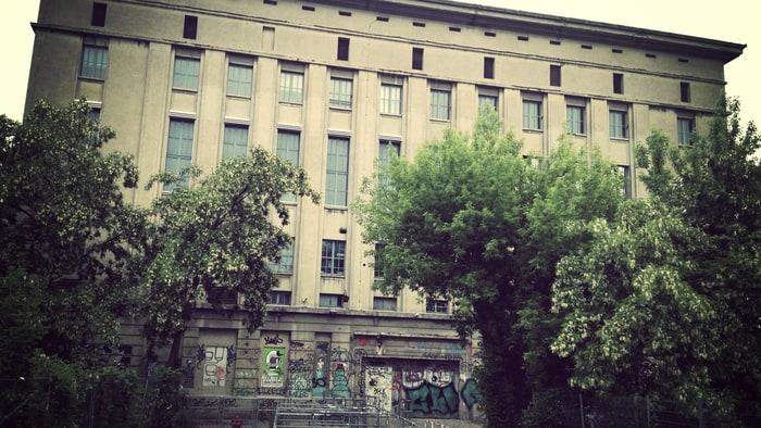 tv gratis tv klubb Berghain Berlin