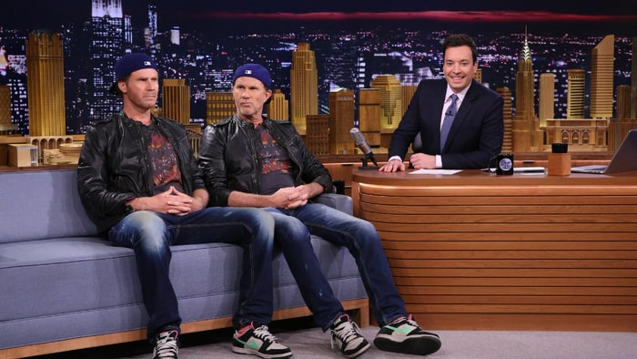 have chad smith and will ferrell meet