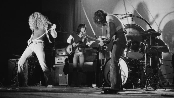 Hear Led Zeppelin S Loose Alternate Mix Of Rock And Roll