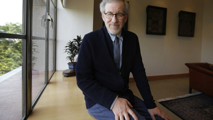 Steven Spielberg and Tim Burton Photos - Tim Burton Turns 50 - Zimbio