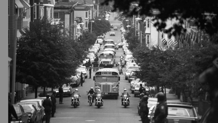 equality in america the advantages of forced busing in the city of boston A story of america's school integration and what happened when the buses stopped this happened in boston, where court-ordered integration resulted in a busing plan that wound up mainly moving children of color around the city but busing had greater success in some places.