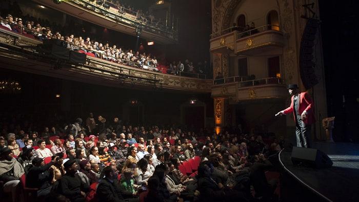 Amateur stage theatre