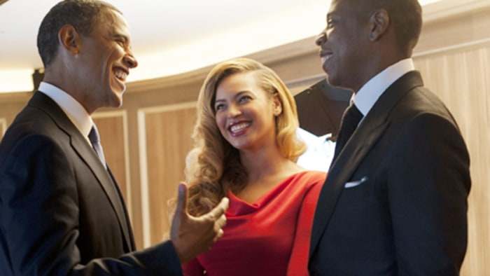 Beyonce, Jay-Z Raise Money for Obama - Rolling Stone Obama And Beyonce