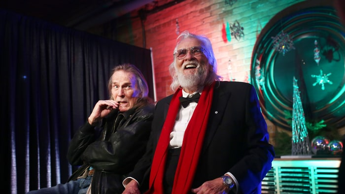 Hear Ronnie Hawkins Cover The Band's Christmas Staple - Rolling Stone