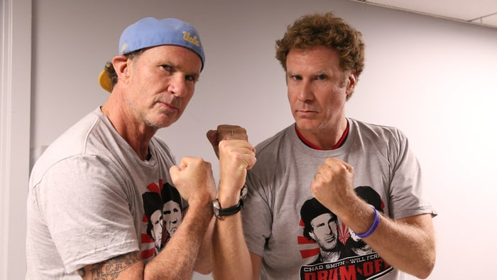 Image result for Chad Smith and Will Ferrell
