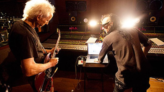 Robbie Krieger of the Doors and Skrillex collaborate in \u0027Regeneration.\u0027 Credit: Brian Nevins & Remaining Doors Members Record With Skrillex for New Documentary ... Pezcame.Com