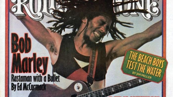 Αποτέλεσμα εικόνας για bob Marley rolling stones paper