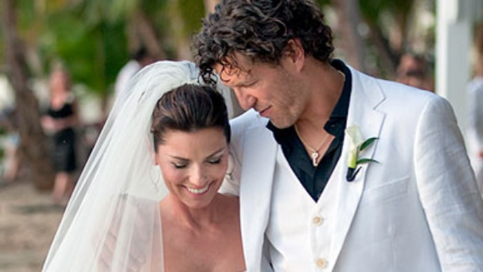 Shania Twain S First Official Wedding Pics Rolling Stone