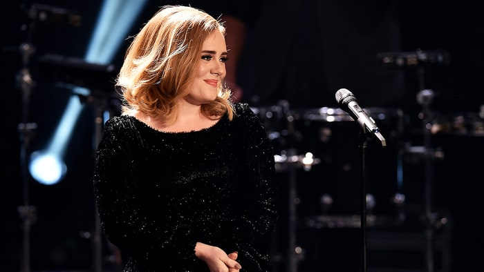 "Adele's Grammy Performance of ""All I Ask"" Marred By Audio Issues news"