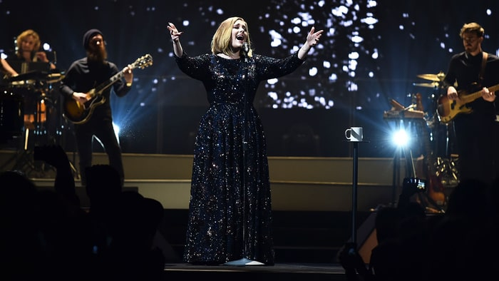 Adele took home 4 awards and closed the #BRITs with a flawless performance | Pho... instagram