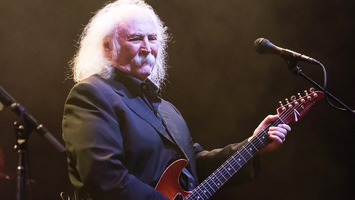 Watch David Crosby, Graham Nash, Robbie Robertson on 'Speakeasy' news