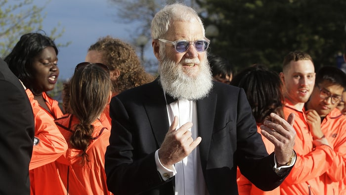 David Letterman to be awarded Kennedy Center's Mark Twain Prize