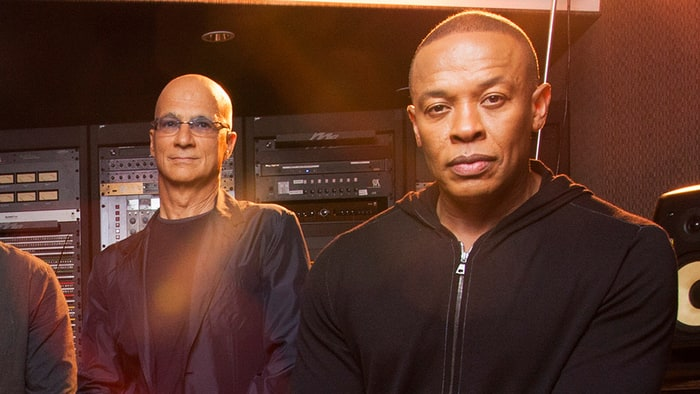 Jimmy Iovine and Dr. Dre are the subjects of HBO's forthcoming 'The Defiant Ones' documentary. Credit: Stephanie Diani/The NY Times/Redux