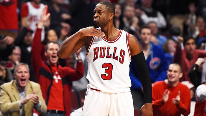 Dwyane wade s first game in a chicago bulls uniform was a good one