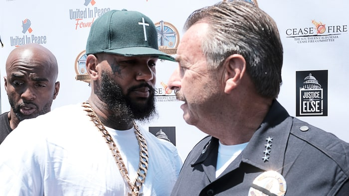 The Game Addresses L.A. Gangs at Anti Violence Summit news