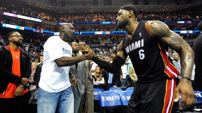 LeBron James Should Stop Chasing Michael Jordan - Rolling ...