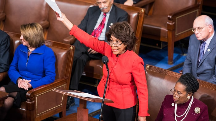 Rep. Waters on Trump-Russia Collusion: No 'Actual Evidence'