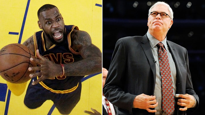 Image result for phil jackson on lebron posse