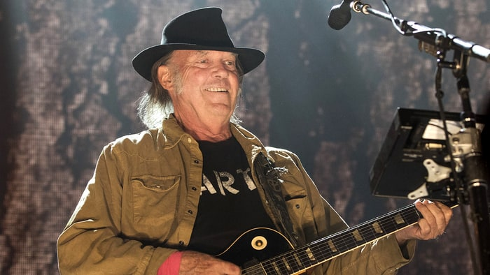Neil Young releases 'Hitchhiker' from previously unheard acoustic LP