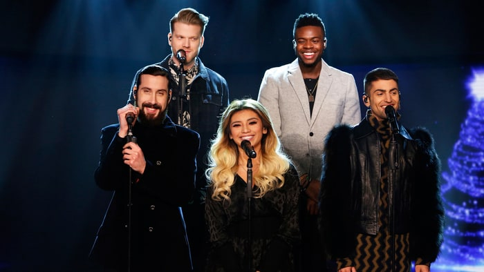 On the Charts: Pentatonix's 'Christmas' Rings in Number One ...