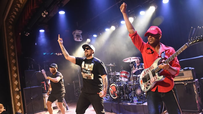 Chuck D Talks 'Mein Trump,' 'Keeping Seat Warm' for Zack de la Rocha news