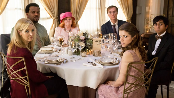 table 19 cast. \u0027table 19\u0027 juggles anne kendrick\u0027s cutesy-klutzy act and a strong cast \u2013 so why does this wedding comedy keep rsvping nothing but regrets? our review. table 19 rolling stone