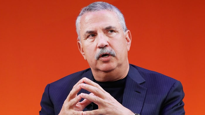 Thomas Friedman's latest book is titled, 'Thank You for Being Late.' Credit: John Lamparski/Getty