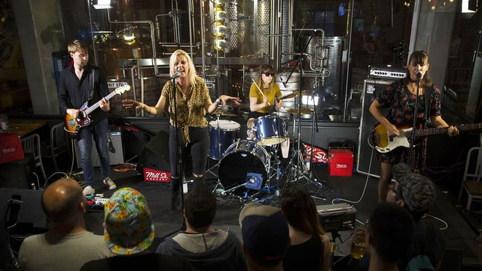White Lung on Sweaty Summer Tour, Conjuring 'New Kind of Anger' Onstage news