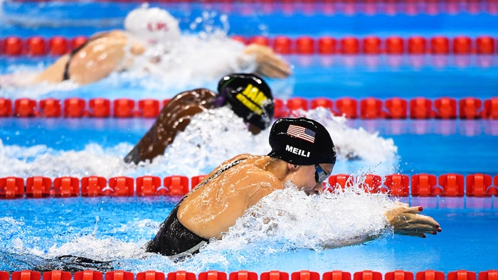 american olympic swimmer lilly king and russias yulia efimovas rivalry comes to a head at the womens 100 meter breaststroke final - Olympic Swimming Breaststroke