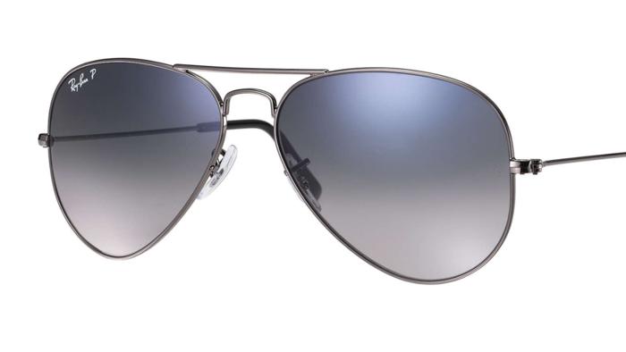 ray ban cop sunglasses  Essentials: Ray-Ban Gradient Classic Aviator Sunglasses - Men\u0027s ...