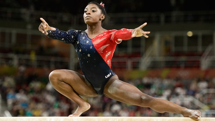 Simone Biles Doesn't Need Anyone to Tell Her Who Her Parents Are