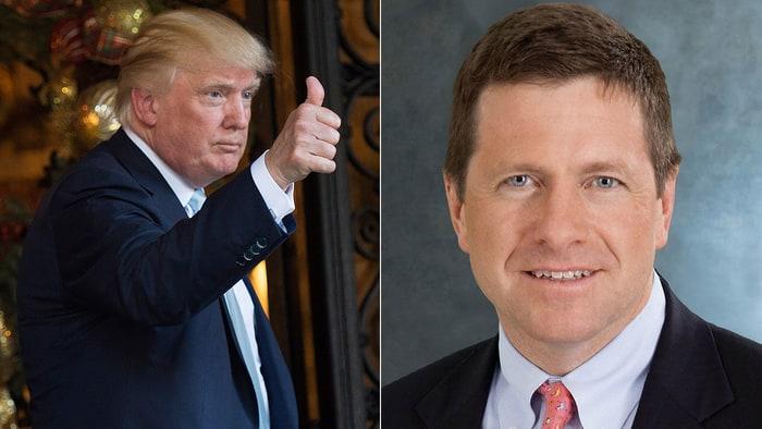 Some Senators war over Wall Street during Trump SEC pick's hearing