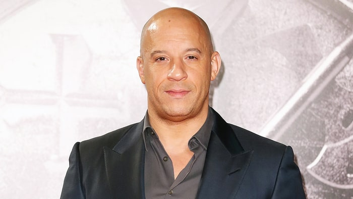 Vin Diesel Shows Off H...