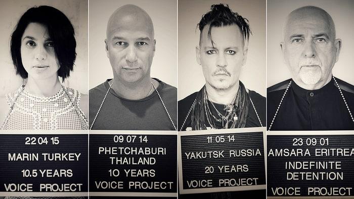 Johnny Depp Supports Ukrainian Director Oleg Sentsov in