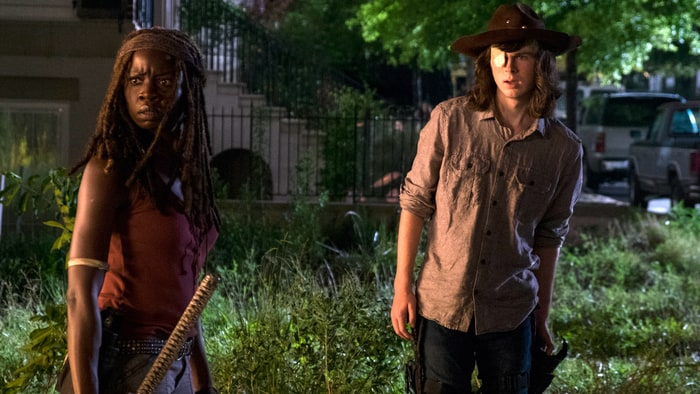 Chandler Riggs Tweets About 'The Walking Dead' Midseason Finale