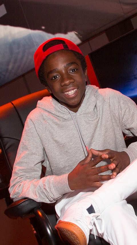 'Stranger Things' Star Caleb McLaughlin Talks 'Destiny' and Being Mean to Eleven