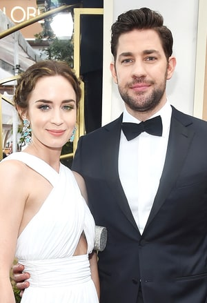Image result for john krasinski and emily blunt