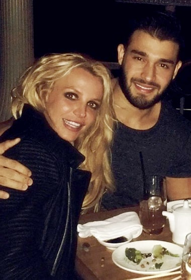 Britney Spears Gives Boyfriend a Birthday Shout-Out - Us ... Britney Spears Instagram