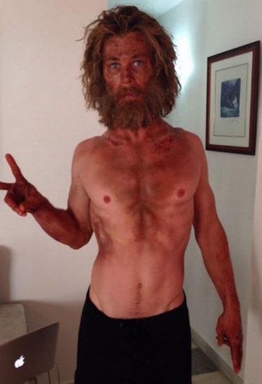 Chris Hemsworth Body