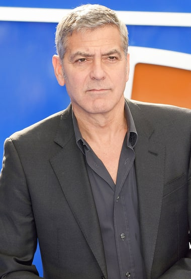 George Clooney Reacts ...