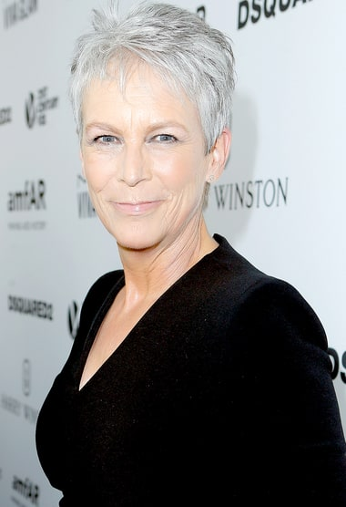 Jamie Lee Curtis attends amfAR's Inspiration Gala Los Angeles at Milk ...